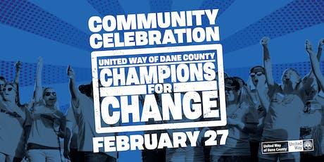 Community Celebration tickets