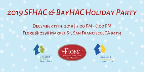 2019 SFHAC & BayHAC Holiday Party tickets