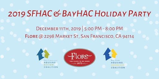 2019 SFHAC & BayHAC Holiday Party