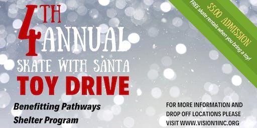 4th Annual Skate w/Santa Toy Drive