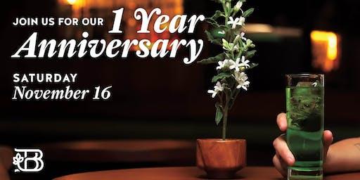 Botanist 1 Year Anniversary