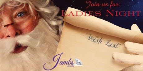 Jambs Jewelry's Ladies Night Annual Event tickets