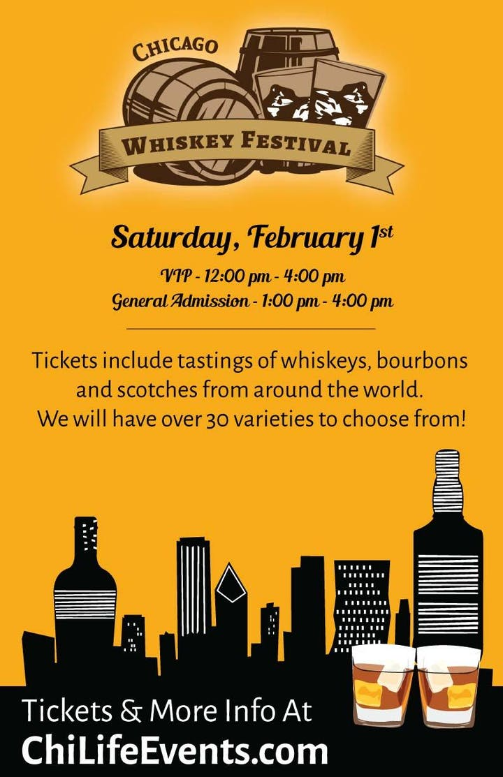 Events In Chicago February 2020.2020 Chicago Whiskey Festival A River North Whiskey Tasting