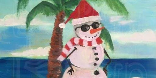 Aussie Snowman (Dine In)
