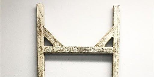 New! DIY Farmhouse Blanket Ladder Workshop