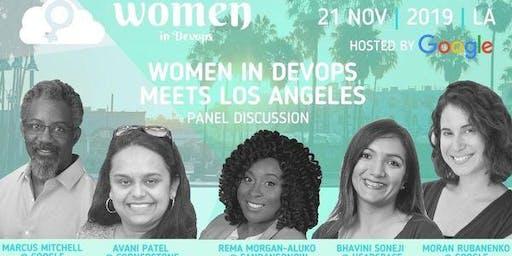 Women in DevOps meets Los Angeles