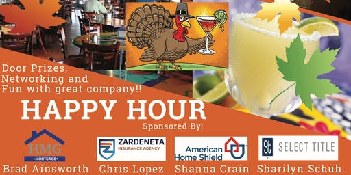 Thanksgiving Happy Hour!
