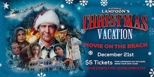 Christmas Vacation | Movie on the Beach