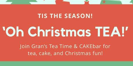 Oh Christmas TEA tickets