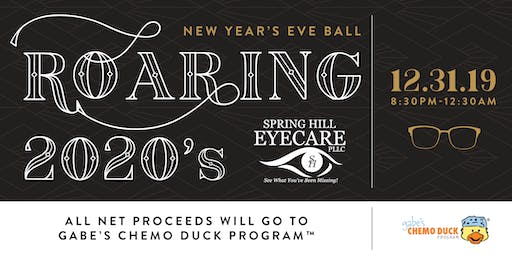 Spring Hill Eyecare's Roaring 2020s New Year's Eve Ball