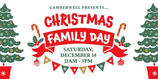 You're invited to Camberwell's Christmas Family Day 2019