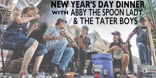 New Year's Day Dinner with Abby The Spoon Lady & the Tater Boys