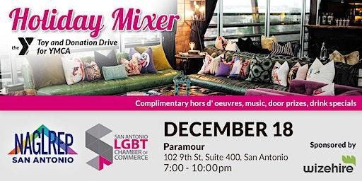 NAGLREP San Antonio & SALGBTCC Holiday Mixer & Toy Drive Dec 18