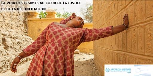 La voix des femmes maliennes au cœur de la justice et de la réconciliation