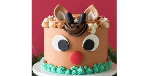 Kids Only Deer Cake Decorating Class