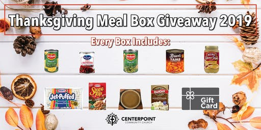 Thanksgiving Meal Box Giveaway