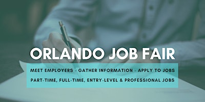 Orlando Job Fair - May 19, 2020 - Career Fair