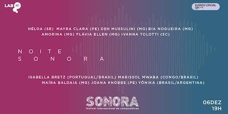06/12 - SIM 2019 | NOITE SONORA NO LAB MUNDO PENSANTE tickets