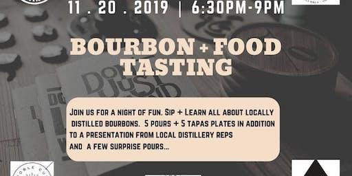 Local Bourbon Tasting + Food Pairing