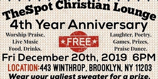 TheSpot Christian Lounge 4th Year Anniversary