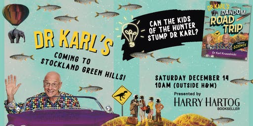 Dr Karl is Coming to Stockland Green Hills!