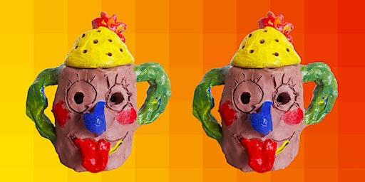 Summer Clay Club: Make a Mud Head (5-8yrs)