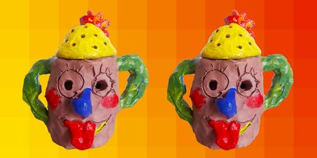 Summer Clay Club: Make a Mud Head (8yrs and over) tickets