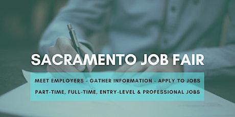 Sacramento Job Fair - November 16, 2020 - Career Fair tickets