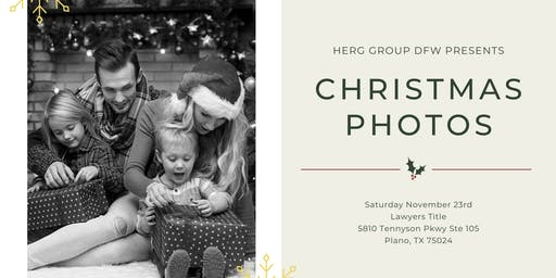 Christmas Photos With HERG Group DFW