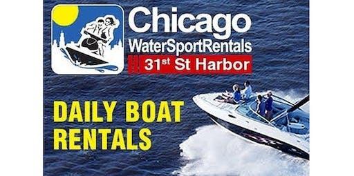 Pontoon Boat (Chicago Boat Rentals) (08-14-2020 starts at 5:00 PM)