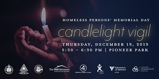 Homeless Persons' Memorial Candlelight Vigil