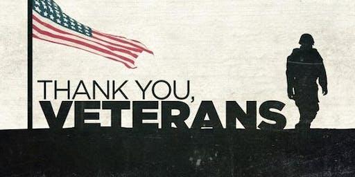 Veterans Holiday Appreciation Breakfast