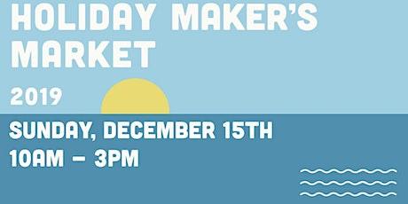 Holiday Markers Market tickets