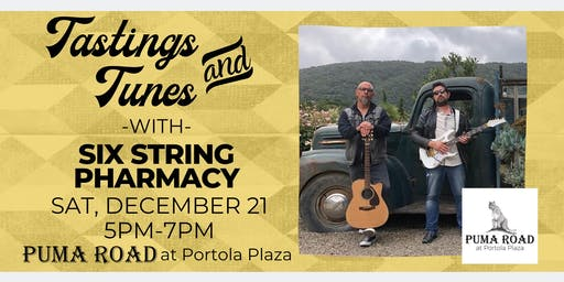 Live Music - Tastings & Tunes w/ Six String Pharmacy