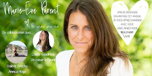 """Week-end """"Par amour pour moi❤️"""" Pleine Conscience, Yoga et Méditation"""