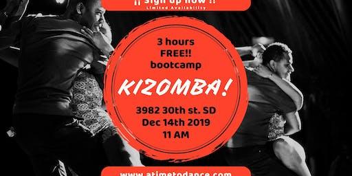 Free Kizomba 3hr Bootcamp