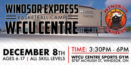 Windsor Express Youth Basketball Camp tickets