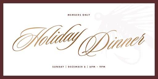 Member's Only Holiday Dinner