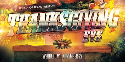 Thanksgiving Eve Dance Party