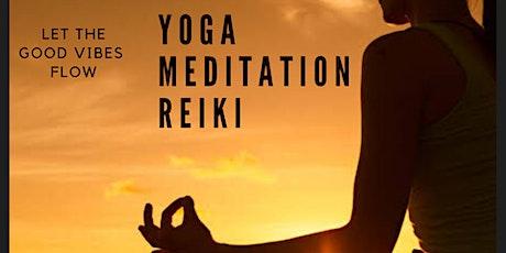 Yoga, Meditation & Reiki Flow Session tickets