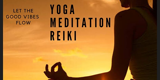 Yoga, Meditation & Reiki Flow Session