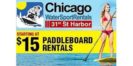 Chicago Paddleboard / SUP Rentals (09-02-2020 starts at 11:30 AM)