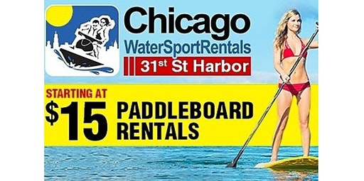 Chicago Paddleboard / SUP Rentals (05-21-2020 starts at 3:30 PM)