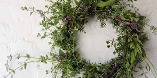 Alternative Black Friday: DIY Holiday Farm Wreath Making