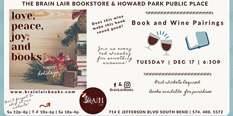 21 Plus: Book and Wine Pairings tickets