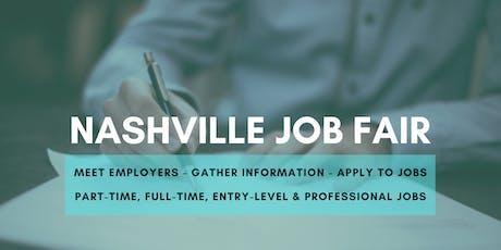 Nashville Job Fair - February 12, 2020 - Career Fair tickets