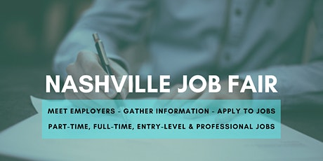 Nashville Job Fair - June 10, 2020 - Career Fair tickets