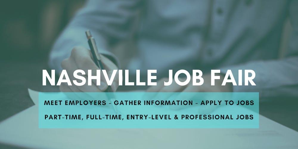 Nashville Fair 2020.Nashville Job Fair February 12 2020 Career Fair Tickets