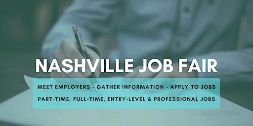 Nashville Job Fair - February 12, 2020 - Career Fair
