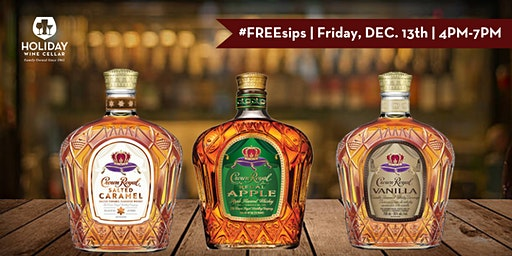 #FREEsips   Crown Royal Whisky